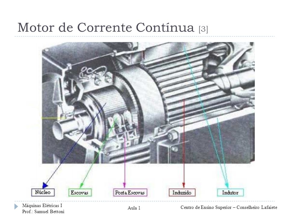 Motor de Corrente Contínua [3]